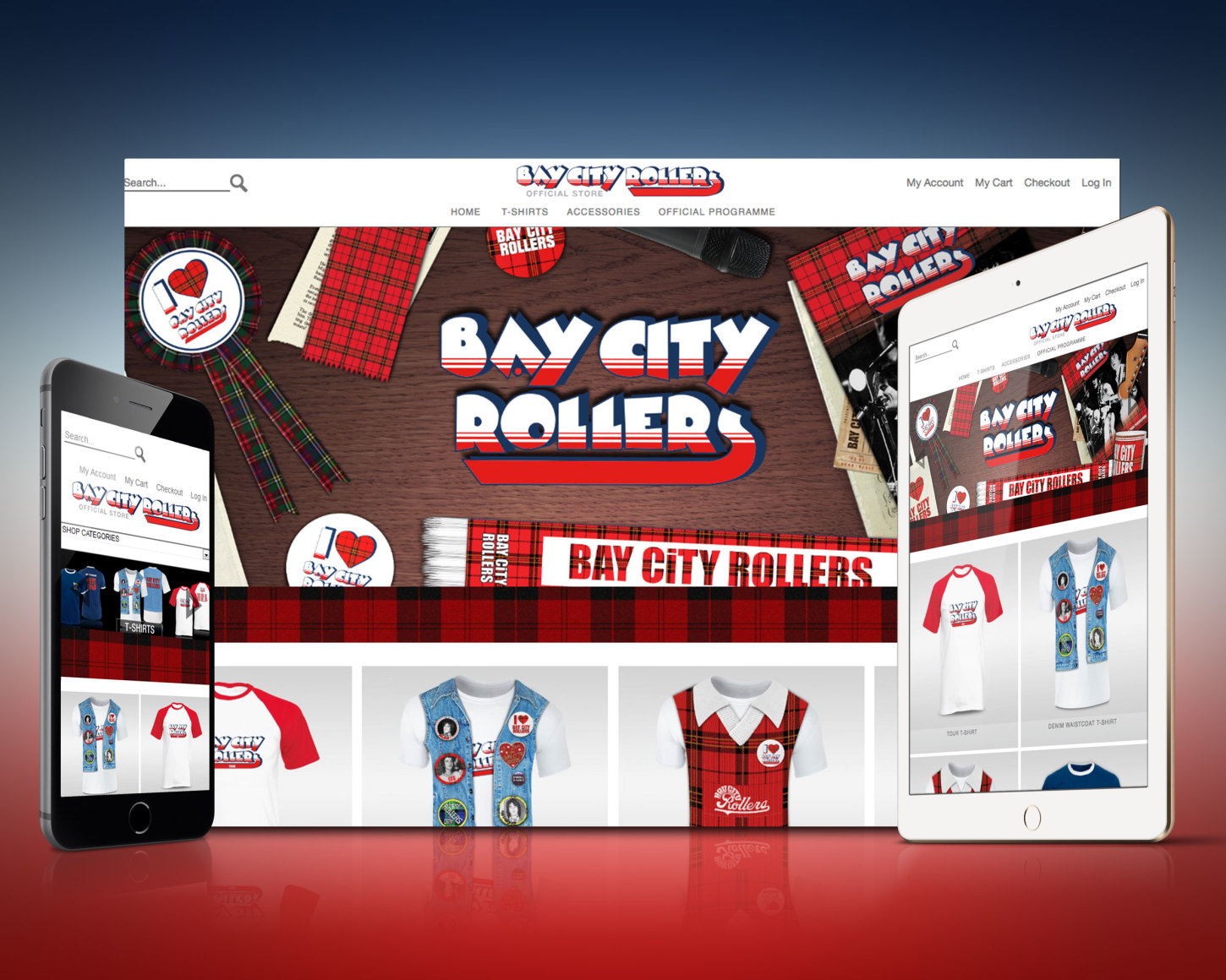 Bay City Rollers Store