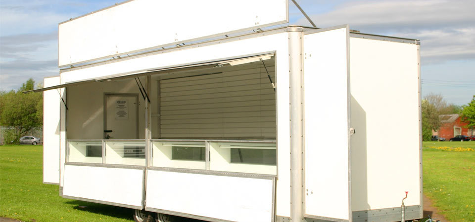 Mobile Retail Unit Front
