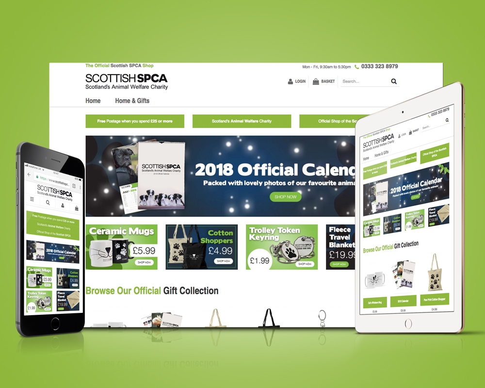 Scottish SPCA Store